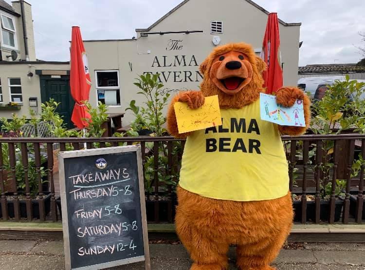 Alma bear 1