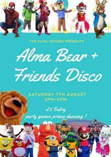 Alma bear disco