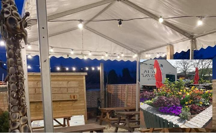 COVID READY FOR OUTDOOR DINING & DRINKS